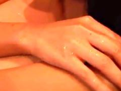 my oriental playgirl teasing in the hawt washroom