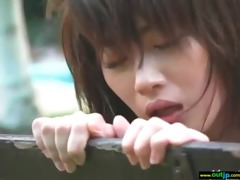 cute japanese hotty acquire outdoor group-fucked