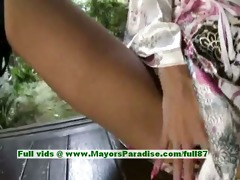 kei blameless nasty japanese maid shows off her