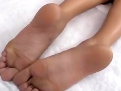 japanese lesbo foot worship