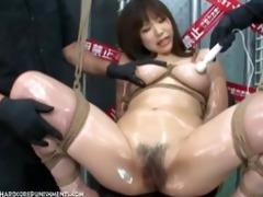 intensive japanese device suspension bondage sex