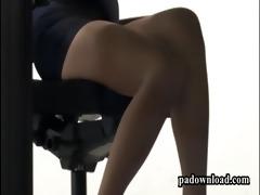 japan gal lalin girl butt clip   bawdy cleft board