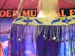 arab striper dancer