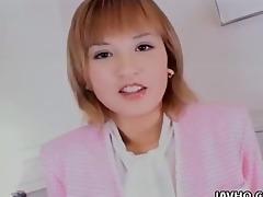 appealing sweetheart yuu katagiri toys herself
