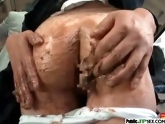 hawt model japanese get nailed in public video-13