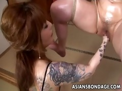 asian thraldom hottie is fisted