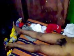 indian boy sleeping bare