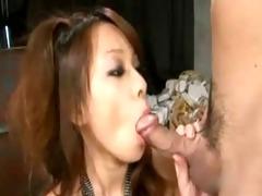 nice-looking breasty japanese hirsute vagina