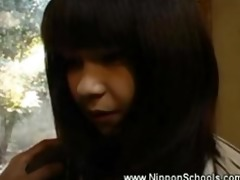 japanese legal age teenager carest by mature