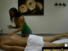 enjoyable massage from an oriental gal