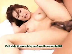aya hirai astounding chinese gal receives hard sex