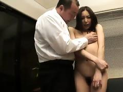 nozomi mashiros job interview includes tit and