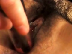 obscenely hairy japanese gal anal fuck