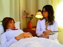 japanese lesbo nurses anal exam