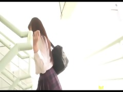 azhotporn.com - concupiscent asian schoolgirl got