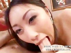 oriental fuck in anal wearing a pink silky panty