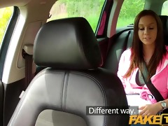 faketaxi constricted legal age teenager with big