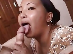 naughty aged oriental receives cumfaced after