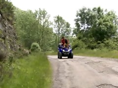 outdoor sex on quad and on climbing dangerous
