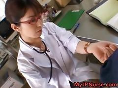 ann nanba enjoyable asian nurse