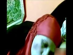 arab cutie with red hijab engulfing weenie