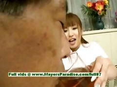 myuu hasegawa sinless cute oriental angel giving