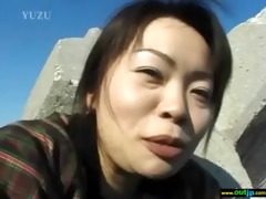 asians japanese gals acquire nailed in public