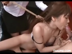 mommy and daddy dominate oriental beauty