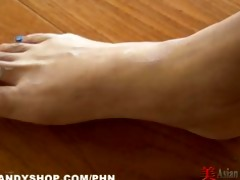 oriental striptease and foot play