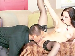 amwf friend style interracial with oriental lad