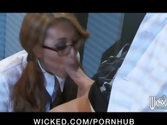 sexually excited oriental redhead jayden lee