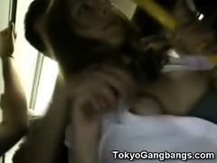 white coed acquires masturbated in tokyo!