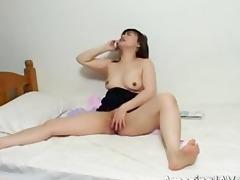 lustful japanese beauty masturbating part11