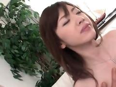 skinny japanese sweetheart receives hirsute moist