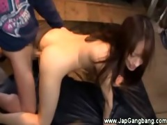 hawt oriental receive fingered then gives head