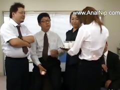 oriental secretary from oriental with arse milk