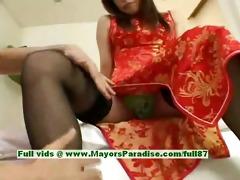 ayane virginal oriental beauty enjoys a hard core