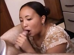 big charming woman head #90 (plump oriental)