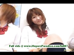 sexually excited oriental schoolgirls at school
