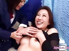 oriental angel giving a kiss spitting with a