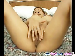 oriental hotty drilled by a petite pecker