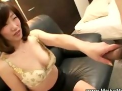aged japanese maiko seduces stud
