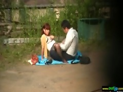 outdoor hardcore sex act with oriental girls
