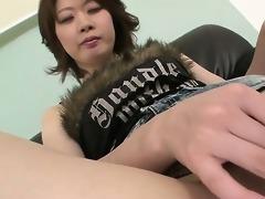 squirting chick rio kagawa has her vagina toyed