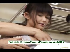 haruna ayase sexually excited japanese floozy in