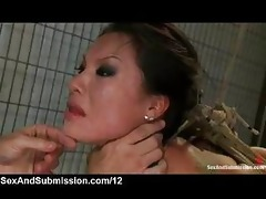 rope slavery oriental face hole screwed