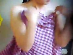 spy camera: khmer beauty take a washroom
