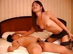 korean babe fucking 8 boys