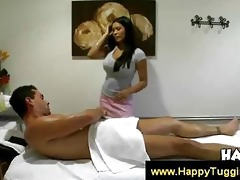 oriental allanah gives a fleshly massage