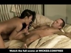 oriental mother i with small-tits orgasms when